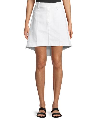 Archer Sculpted A-line Skirt