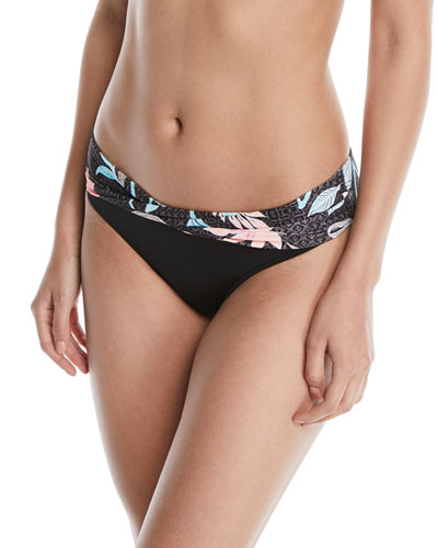 512852be38 Quick Look. Seafolly · Bali Hai Twist-Band Hipster Swim Bikini Bottom