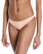 The Fiona Solid Hipster Swim Bikini Bottom
