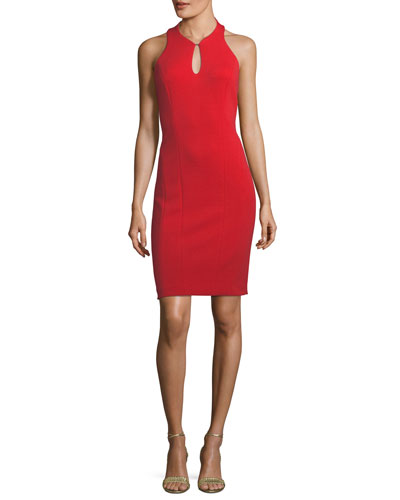 Velma Racerback Keyhole Mini Dress