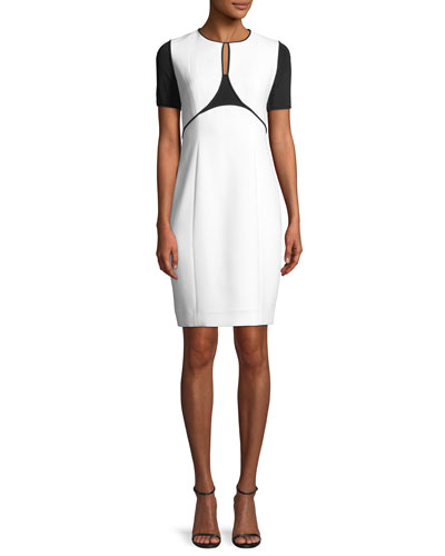 Nixie Keyhole Sheath Dress