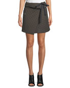 Jane Self-Tie A-Line Skirt