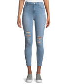 Alana Distressed High-Rise Jeans