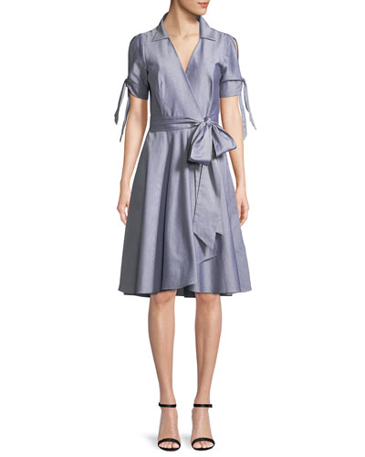 Valerie Oxford Shirting Dress