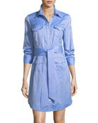 West Oxford Shirting Dress