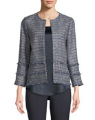 Aisha Exhibition Tweed Jacket