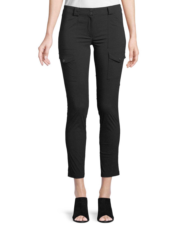 Anatomie Kate Slim Cargo Pants Taupe Modesens