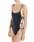 Lily Tie-Side One-Piece Swimsuit