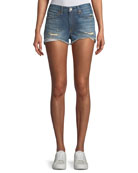 Margaux Cutoff Denim Shorts