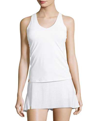Essential V-Neck Jersey Tank