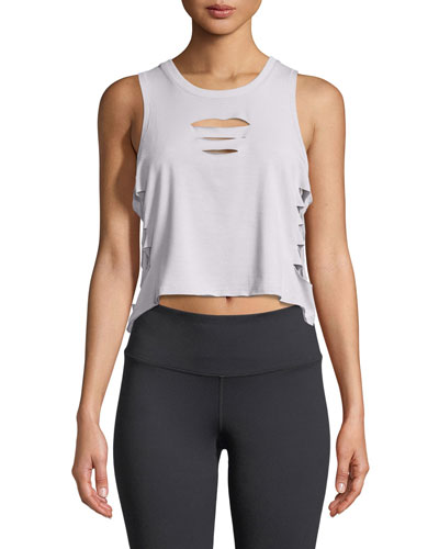 Cut-It-Out Cropped Tank
