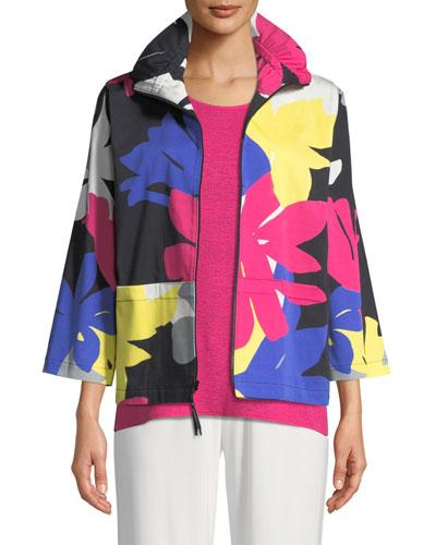 Petal Pusher Printed Jacket