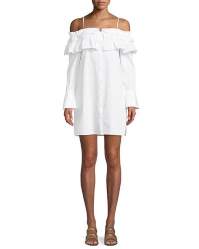 Pallas Off-The-Shoulder Mini Dress