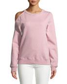 Elton Cold-Shoulder Sweatshirt