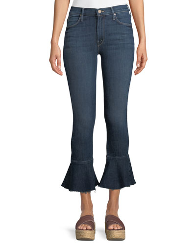 Cha Cha Fray Ankle Jeans