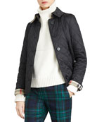 Frankby Quilted Jacket, Black