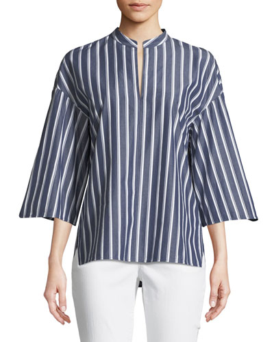 Carla Regal Stripes Blouse
