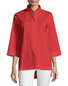 Dylan Italian Cotton Blouse