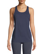 Drill Performance Tank, Dark Blue
