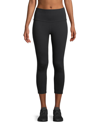 Fit and Trim Capri Leggings w/ Side Trim