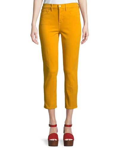 Mara High-Rise Cropped Skinny Jeans