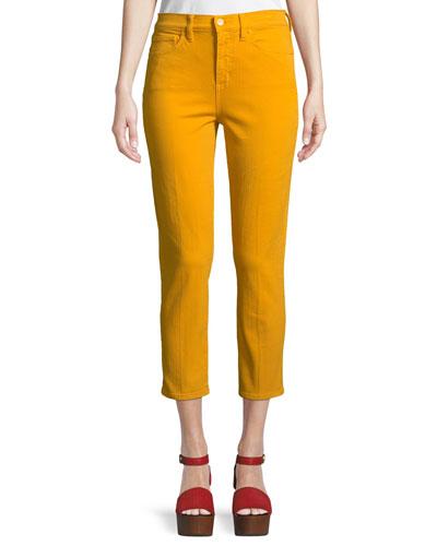 Mara High-Rise Cropped Skinny Jeans