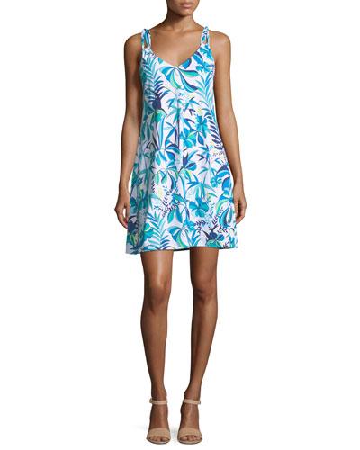 Loop-Strap A-Line Sun Dress