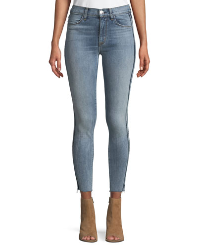 Barbara High-Waist Super-Skinny Jeans
