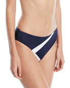 Mila Hipster Colorblocked Swim Bottoms