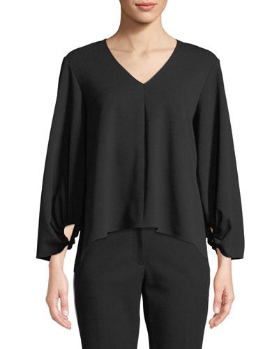 af0e0adeb8 Womens Crepe Top   Neiman Marcus