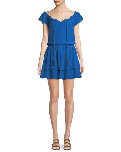 Darcie Ruffled Mini Dress