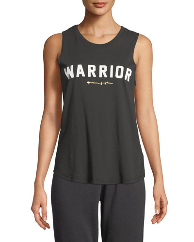 Warrior Crewneck Muscle Tank