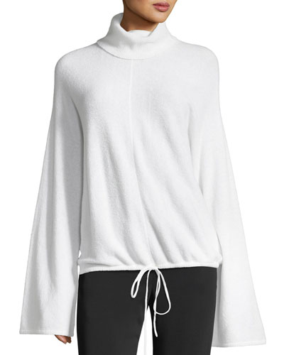Hemingway Bell-Sleeve Wool-Blend Sweater