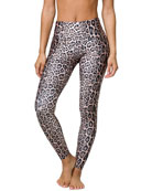 High-Rise Leggings, Leopard