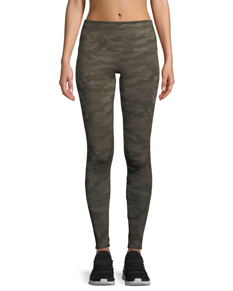 Onzie High-Rise Leggings, Camo