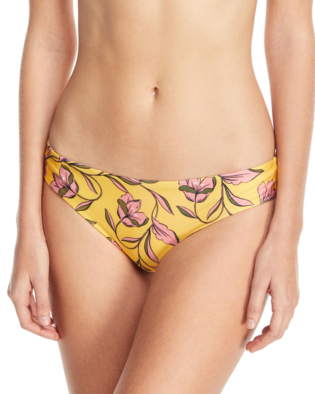 Golden Girls Floral-Print Swim Bottoms