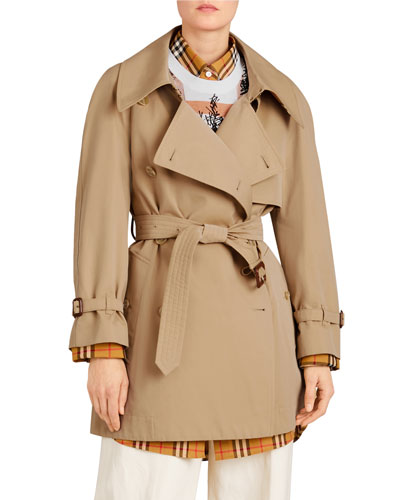 Fortingall Gabardine Trench Coat