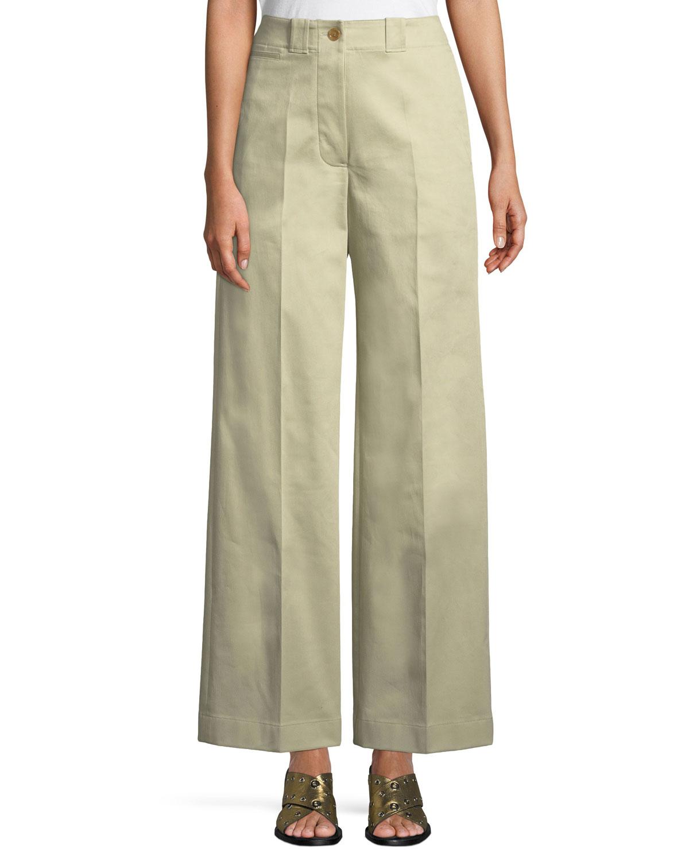 Eastcote High-Waist Wide-Leg Trousers