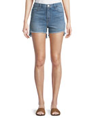 Joan High-Rise Denim Shorts