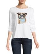 Spring Nino Bulldog Sweater, Plus Size