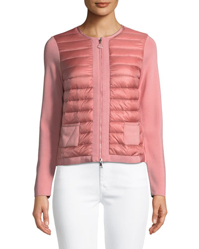 Maglia Quilted Zip-Front Jacket