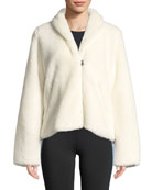Cozy-Up Zip-Front Jacket