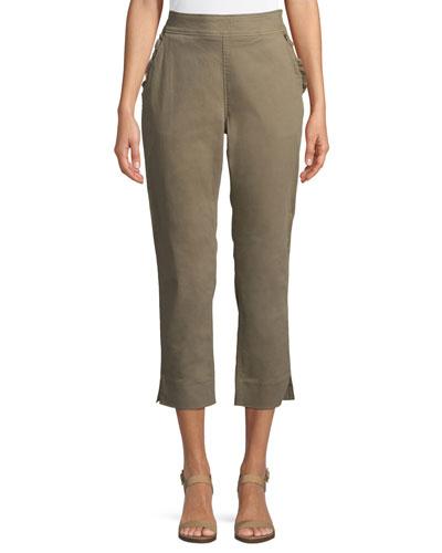 slim-straight chino pants
