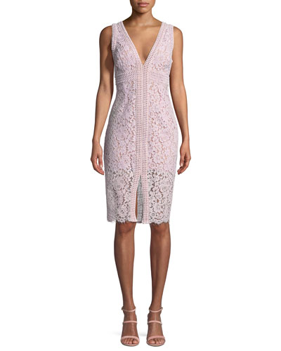 Morgan Sleeveless Lace Dress
