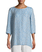 Ride the Wave Easy Linen/Cotton Tunic