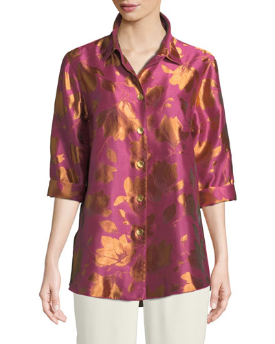 Summer Social Jacquard Cocktail Shirt