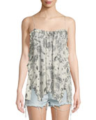 Bamare Paisley-Print Camisole