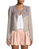 Walefa Multicolor Tweed Jacket