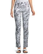 Skyler Printed Slim Pants