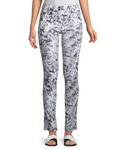 Skyler Printed Slim Pants